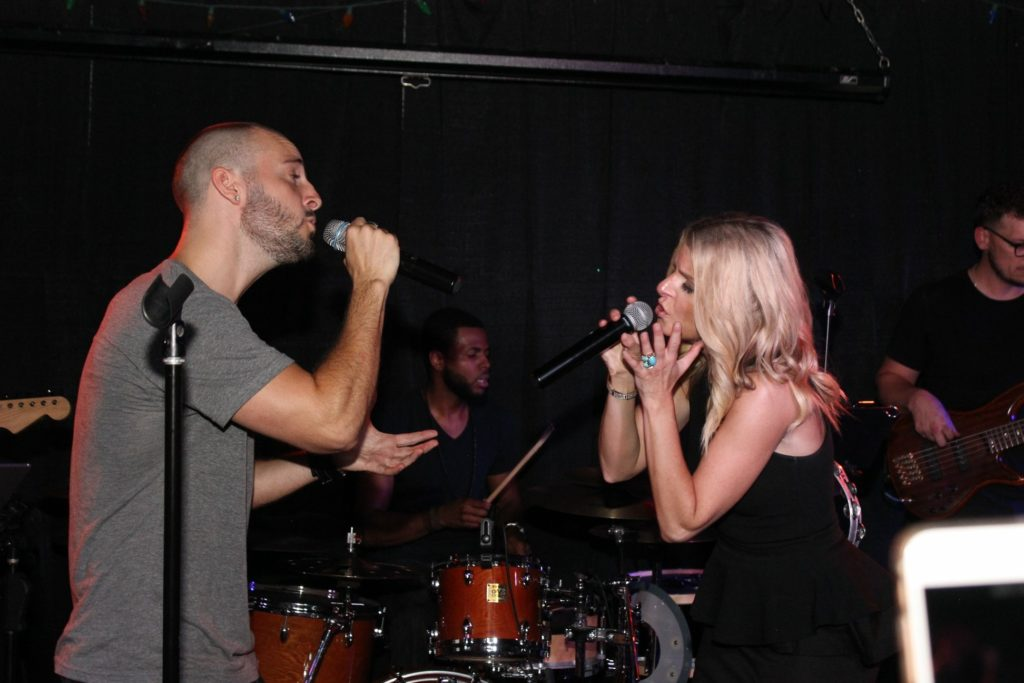 Singing with Tyler Conti @ The Gemini